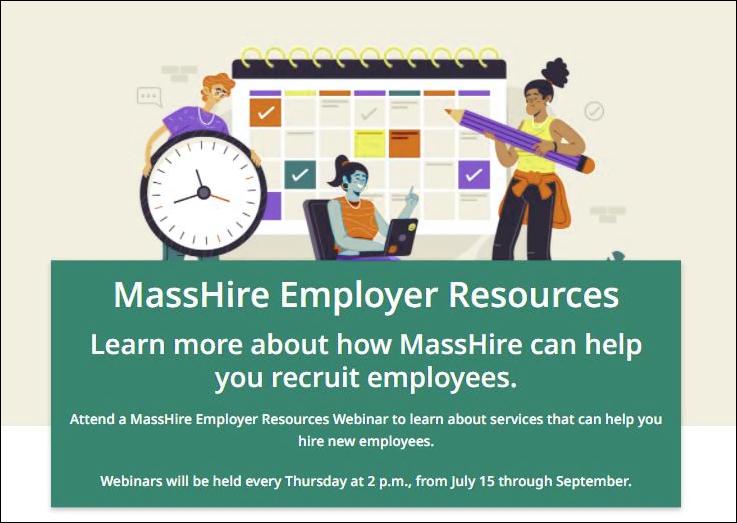 MassHire Employer Resources graphic
